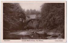 Highland; General Wade's Bridge, Fort William RP PPC, 1908 PMK
