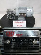 TRANSTECNO  0,09 kw  46 min  getriebemotor cm030   gearbox