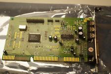 ESS AudioDrive ES1868F ISA 16 bit AT bus Sound audio Card  Working