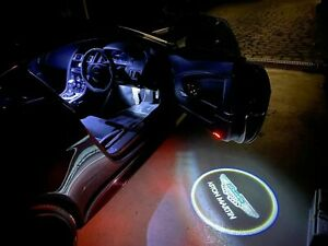 Aston Martin Vantage and DB9 Door puddle laser LED logo light - new UK stock