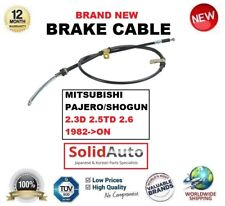 FOR MITSUBISHI PAJERO SHOGUN 2.3D 2.5TD 2.6 1982->ON REAR RIGHT HAND BRAKE CABLE