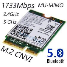 Carte réseau WiFi interne pour MSI GP75-9SD Ordinateur Portable