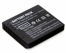 Battery for PANASONIC DMC-FT3EG DMC-FT3EP DMC-FT3GC DMC-FT3GK DMC-FT3GN DMC-FT3R