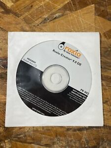 Roxio Creator 9.0 DE - Win XP Win 7 Win Vista BRAND NEW SEALED