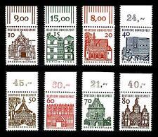 BUND kleine Bauten ** Satz Oberrand komplett, Luxusqualität, Mi. 454 - 461