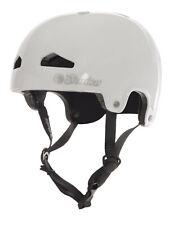 SHADOW CONSPIRACY FEATHERWEIGHT HELMET LG / XL BMX BIKE CPSC & EN 1078 WHITE NEW