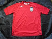 ENGLAND 2006 World Cup away shirt jersey UMBRO 2008 Sons of Albion men SIZE XL