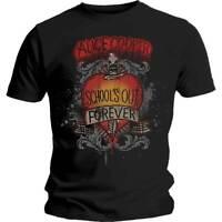 Alice Cooper Schools Out Dagger Official Merchandise T-Shirt M/L/XL - Neu