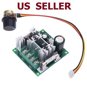6V-90V 15A Pulse Width Modulator PWM DC Motor Speed Control Switch Controller