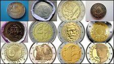 ESLOVAQUIA TODOS LOS 2 EUROS CONMEMORATIVOS DESDE 2009 HASTA 2019