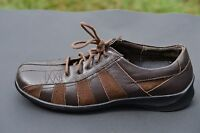 AETREX Womens Customized Comfort Lace up Brown Casual Leather Oxford Shoe Size 9