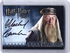 Harry Potter Michael Gambon as Albus Dumbledore Authentic Autograph Card