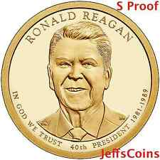 2016 S Ronald Reagan Presidential Golden Proof Dollar Best Grade Coin 16P3 16PV