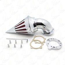 Spike Air Cleaner For Harley S&S Custom Cv Evo Xl Sportster Chrome