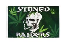 Stoned Raiders Flag 3x5ft Poly