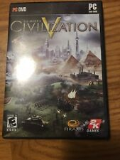 Sid Meier's Civilization V 5 for PC XP/Vista/7/8, Complete Set, Great Condition