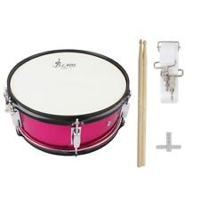 Snare Drum Head 14 Inch with Drumstick Drum Key Strap Professional Rose Red W5H4