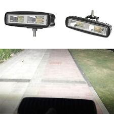 60W LED Working Light Flood Beam Bar Driving Fog Lamp Offroad 4WD SUV ATV
