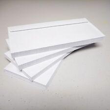 #10 Envelopes White Gummed Flap No Lick Security Tint Sobres de seguridad 80 CT
