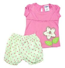 Oshkosh B'gosh One Flower Bloomer Set Baby Girl Clothes (GBOF-06), Size: 9 mos