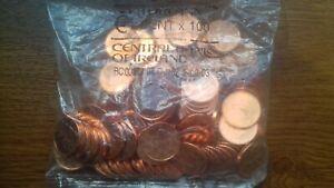 irlande 2002 sachet 100 pièces 1 cent