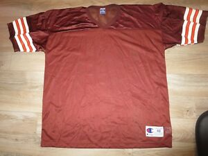 Cleveland Browns Blank Champion NFL Jersey 48 XL mens