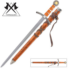 Middle Ages Broad Sword & Matching Scabbard  & and