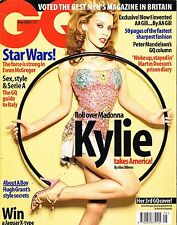 GQ UK May 2002 KYLIE MINOGUE Hugh Grant EWAN McGREGOR Kinvara Balfour @EXCELLENT