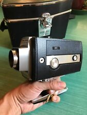 BELL & HOWELL MODEL #306 AUTOLOAD SUPER 8 MOVIE CAMERA OPTRONIC EYE w/ ORIG CASE