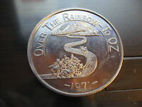 wizard of oz dorothy over the rainbow to oz 1971 Mardi Gras Doubloon Coin