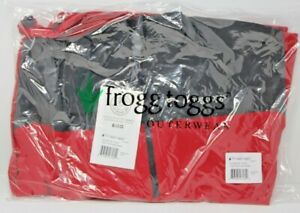 Frogg Togg Pilot Technical Hoodie Carbon RED LG PFH63165-710LG Large New
