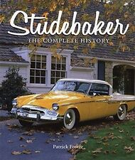 """Studebaker-The Complete History"" brand new full-color hardbound book-192 pgs"