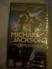Jeu PSP MICHAEL JACKSON The Experience neuf sous blister, import