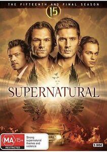 Supernatural Season 15 : NEW DVD