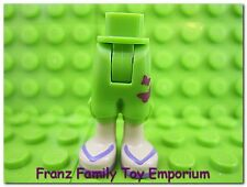 New LEGO Minifigure LEGS Lime Green Crop Pants Friends Female Body Part