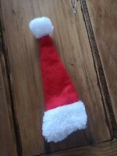 Small Red Santa Hat Bottle Top Cover