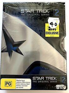Star Trek the Original Series ~ Season 2 ~ Brand New and Sealed - 8 DVD Set