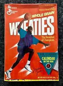 1991 Michael Jordan Unopened Factory-Sealed Wheaties Box