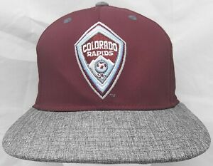 Colorado Rapids MLS Adidas youth adjustable cap/hat