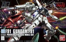 Bandai HGUC 167 Gundam F91 EFSF Prototype Attack Use Mobile Suit 1/144 Scale Kit