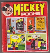 C1 Disney MICKEY POCHE # 7 1974