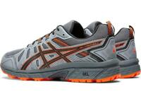 Asics Men's Gel Venture 7 Running Shoes in Carrier Grey/Habanero