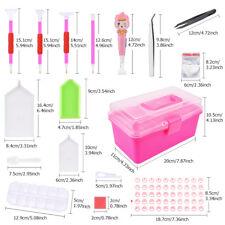 117x Werkzeug Zubehör Box Set Für 5D Diamant Diamond Painting Stickerei Malerei