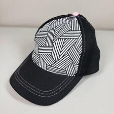 Black Pink White Youth Baseball Cap Hat Adjustable
