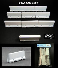 TEAM SLOT 1:32 PAINTED DOUBLE SIDED WALL 10 UNITS - 63007 TRACK SCENE DIORAMA
