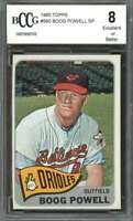 Boog Powell Card 1965 Topps #560 Baltimore Orioles BGS BCCG 8