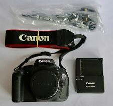 Canon EOS 600D 18.0MP Digital SLR Camera - Black (Body Only) 5k Shutter Count