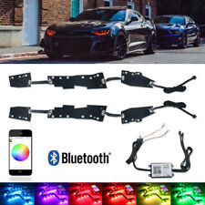For 2016-2018 Chevrolet Chevy Camaro RGBW DRL LED Boards w/Bluetooth Controller