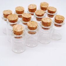 5pcs 5ML  22*30 *12.5mm  Corks Jars for Glass Bottles