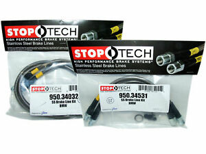 StopTech Stainless Steel Brake Line Kit Front & Rear for BMW 2 3 4 Series M3 M4